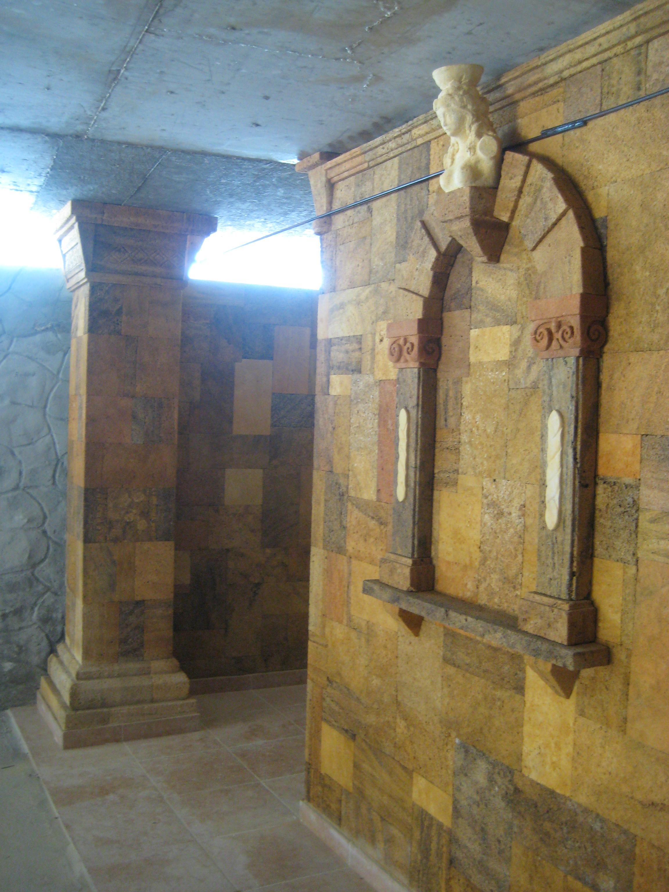 фото ремонтов с декоративным камнем
